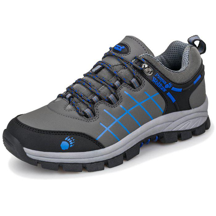 Sale Men Hiking Shoes Outdoor Climbing Durable Sneakers