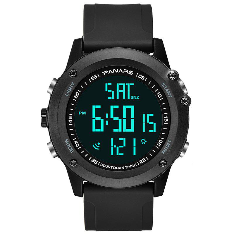 Best PANARS Fashion Sport Electronic Watch Water Resistance Creative Time of  Two Places