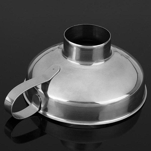 Stainless Steel Wide Mouth Funnel for Kitchen