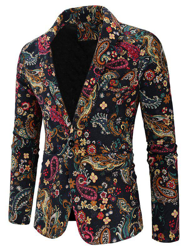 Outfit Men's Blazer Fashion Small Floral Print