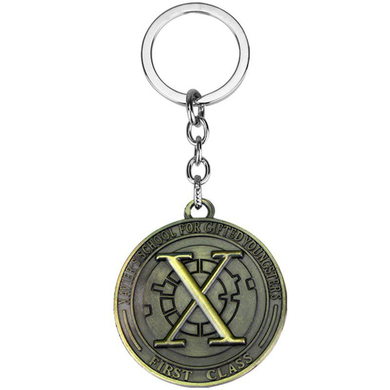 Fancy Alloy Movie Model Keychain for Daily Use