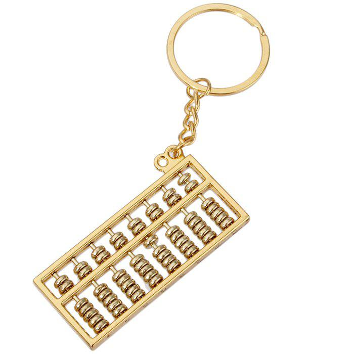 Affordable Alloy Abacus Keychain for Decoration