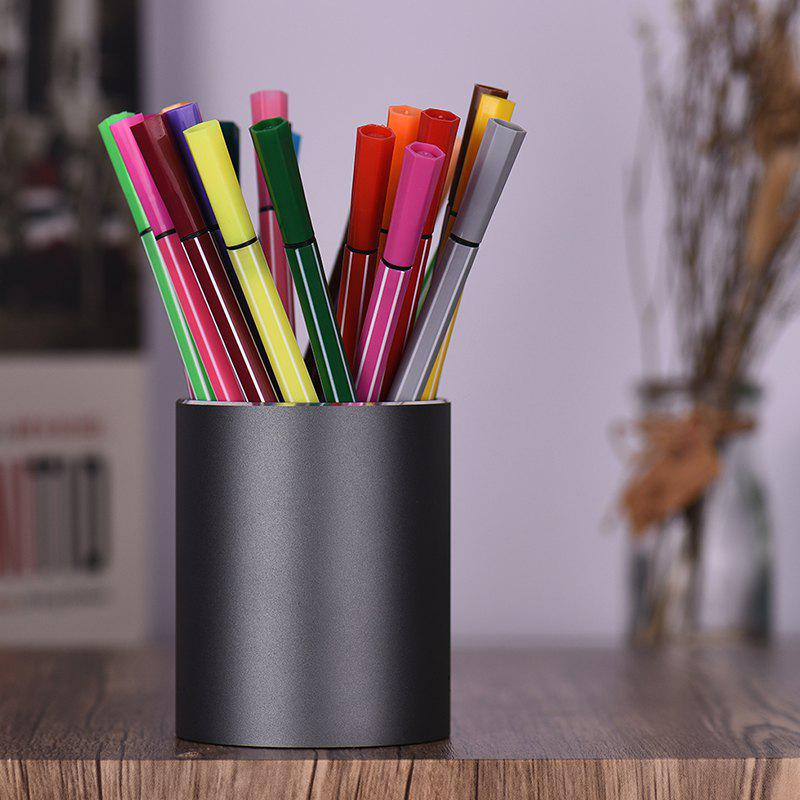 Shops SP1319 SC - 10 Aluminum Alloy Pencil Holder Pen Organizer School Office Supplies