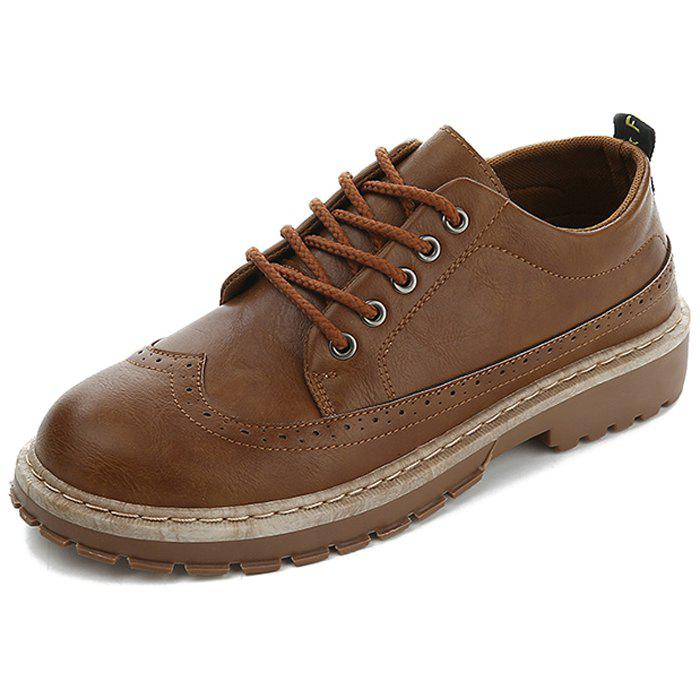 Outfits Men's Leather Casual Shoes Oxford