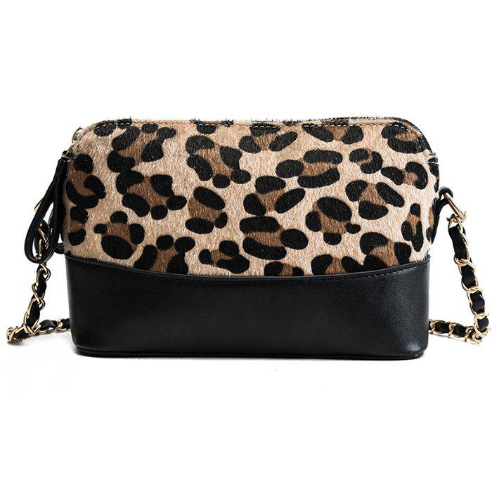 d1c383c74316 Fashion Trend Color Leopard Print Crossbody Bag