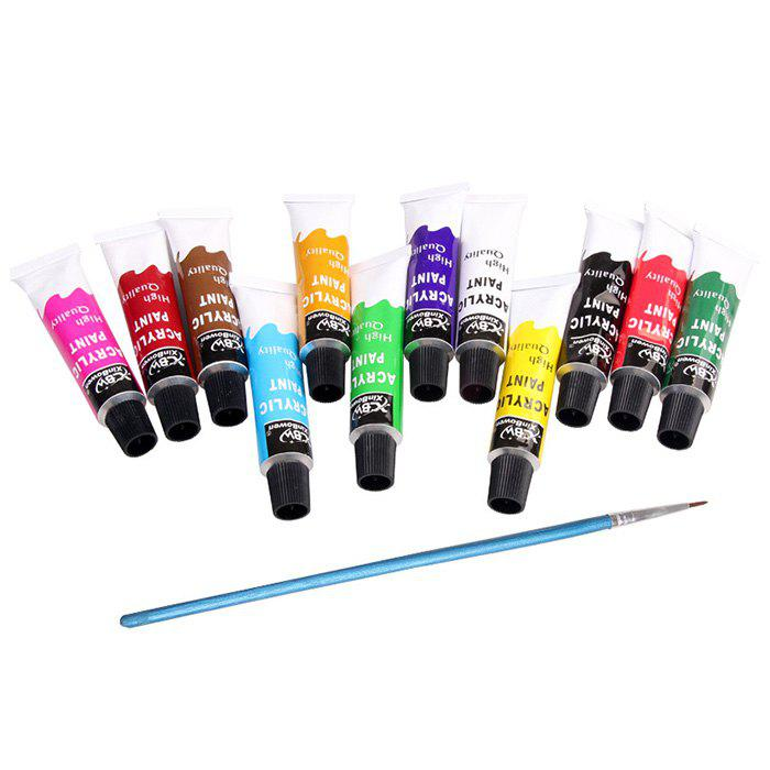 Buy Acrylic Paint for Beginners Artists or Students Set 12