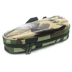 9919 Creative Fighter Large Capacity Simulation Car Student Storage Pencil Case with Password Lock -