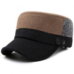 Fashionable Exquisite Flat Hat for Old People -