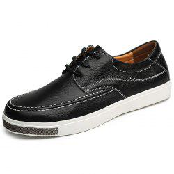Men's Casual Leather Shoes Flat Fashionable -
