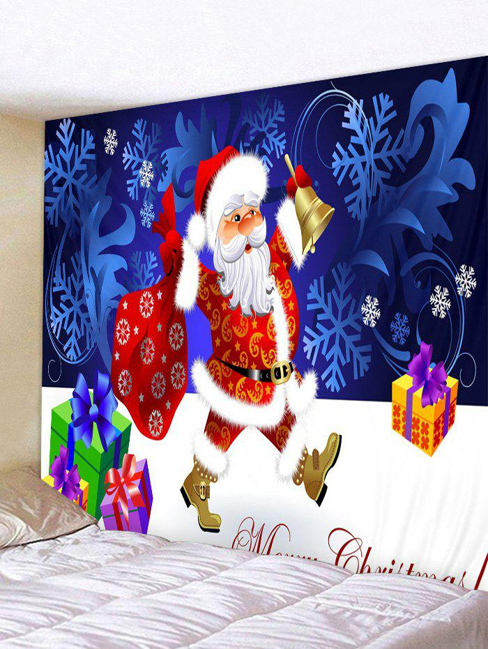 Outfits Father Christmas Snowflake Gift Print Tapestry Art Decoration