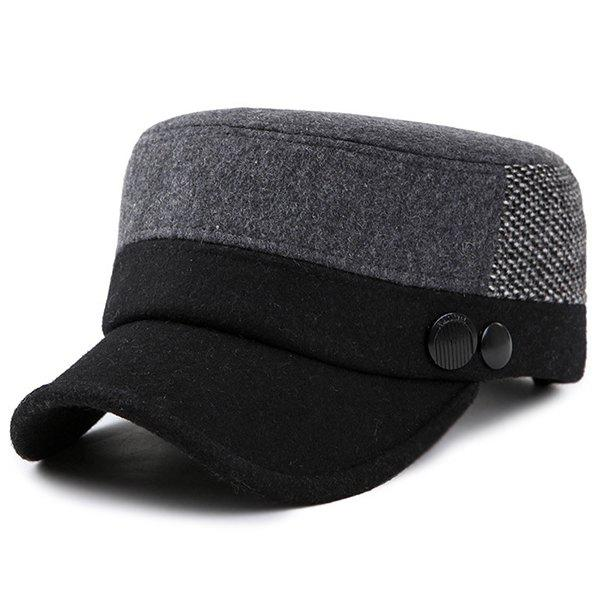 Online Fashionable Exquisite Flat Hat for Old People