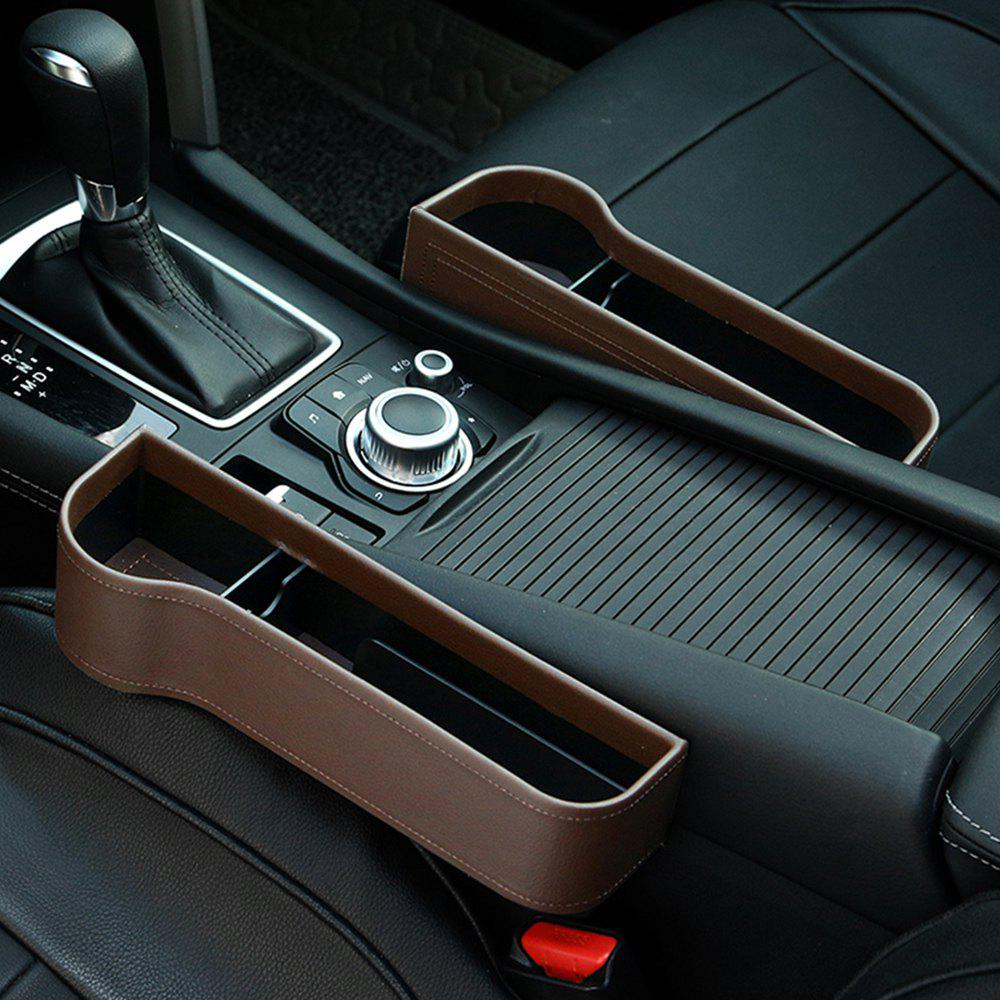 Multi-function Car Slot Storage Box Seat Clip Water Cup Holder