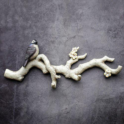Buy Bird Stand Branch Creative Decoration Hook for Home Use