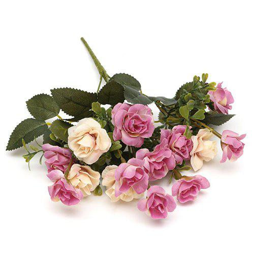 Fashion Five-pronged Rose Artificial Flower Home Wedding Party Decorations