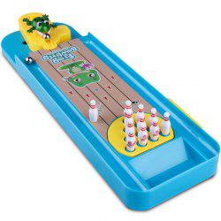 Creative Interactive Mini Frog Bowling Table Toy Set -