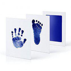 Newborn Baby Non-toxic Ink Handprint Footprint Pad -