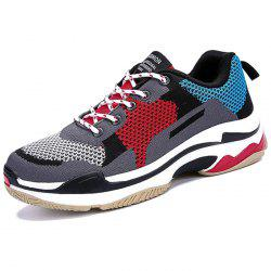 Men Comfortable Sneakers Durable Lace-up -