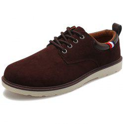 Men Casual Shoes Trend Suede Shoes -