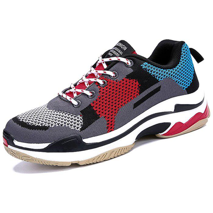 Latest Men Comfortable Sneakers Durable Lace-up