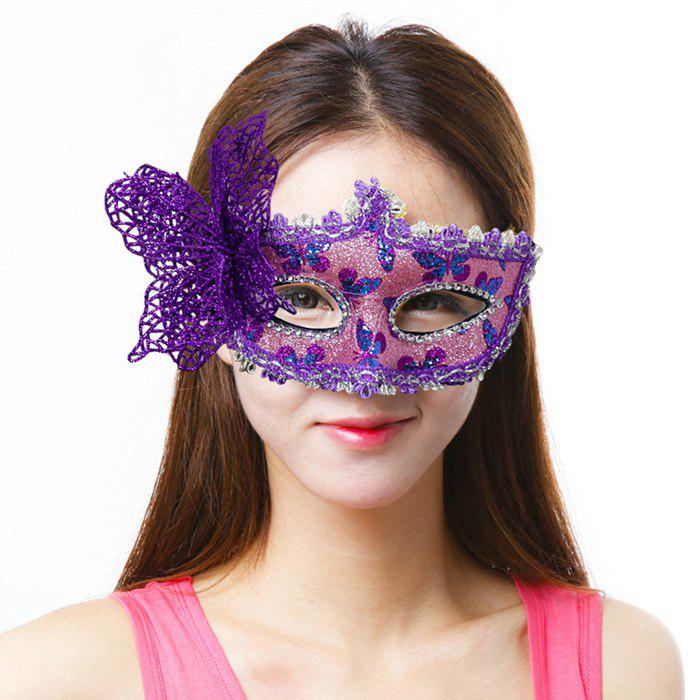 Unique Halloween Masquerade Patch Painted Princess Party Christmas Bow Mask