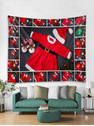 Christmas Clothing Print Tapestry Art Decoration -