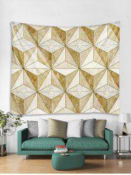 3D Cube Print Wall Tapestry Art Decoration -