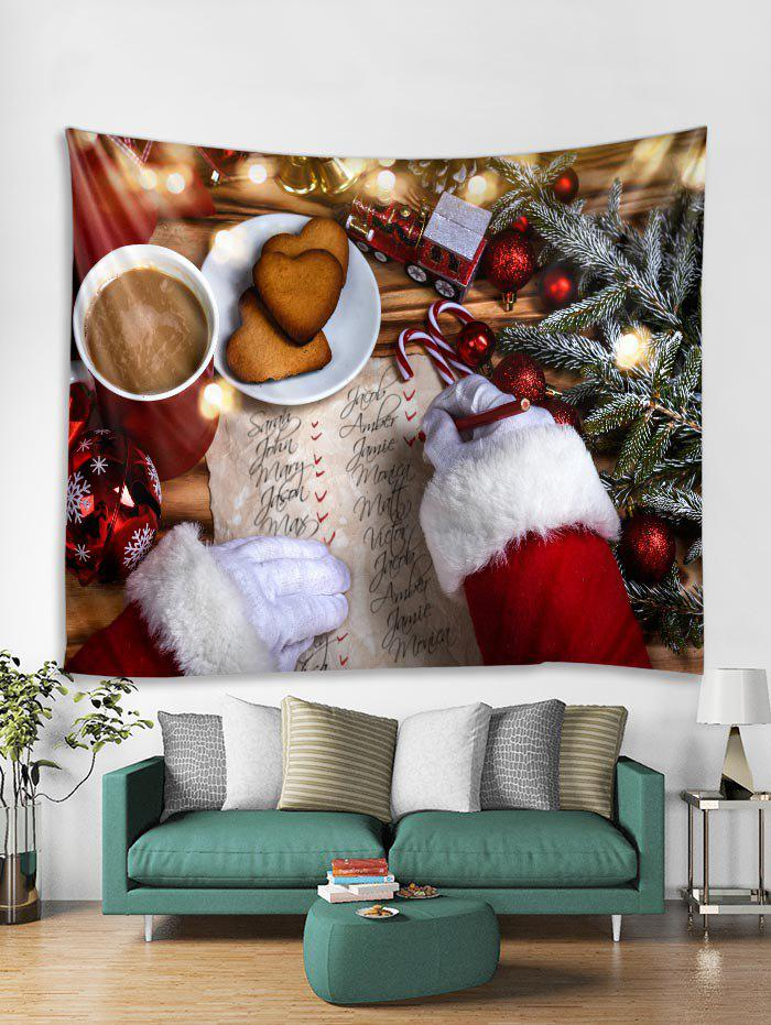 Online 3D Christmas Theme Print Tapestry Art Decoration