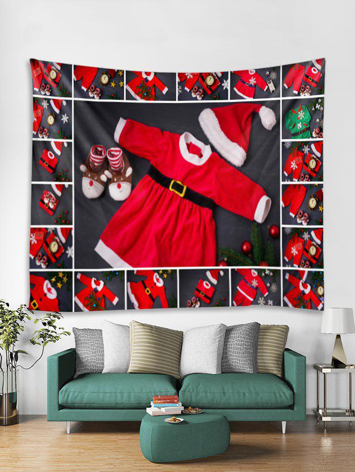 Outfits Christmas Clothing Print Tapestry Art Decoration