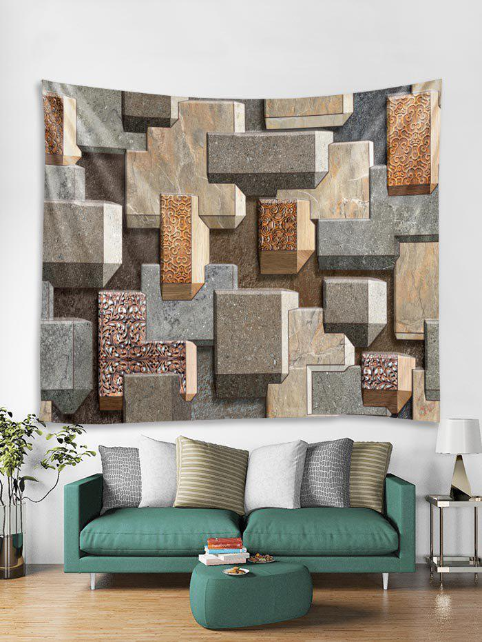 Outfit 3D Brick Wall Print Tapestry Art Decoration