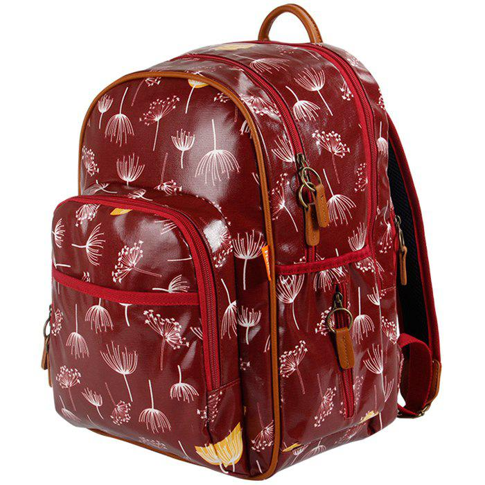 Outfit Multifunctional Eco-Friendly Fashion Shoulder Large Capacity Mother Backpack