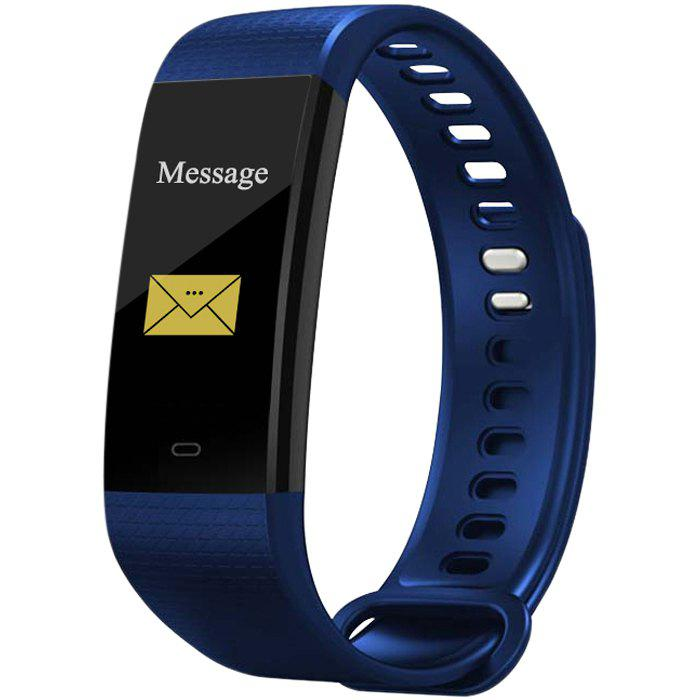 Fancy Y5 Smart Bracelet 0.96 inch Screen Bluetooth 4.0 Call / Message Reminder Heart Rate Monitor Functions