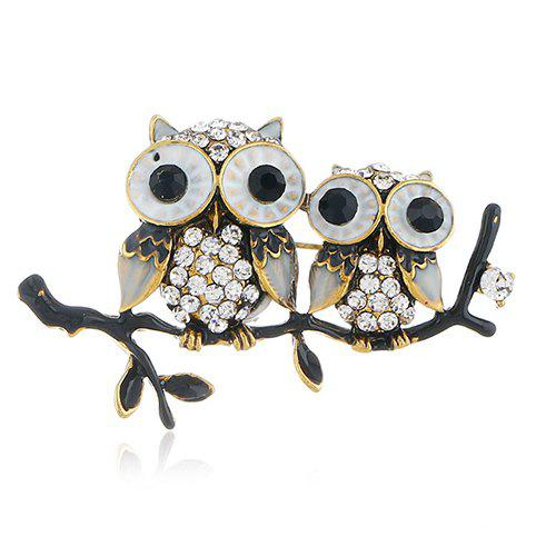 Sale Personality Cute Owl Brooch Pin Accessories