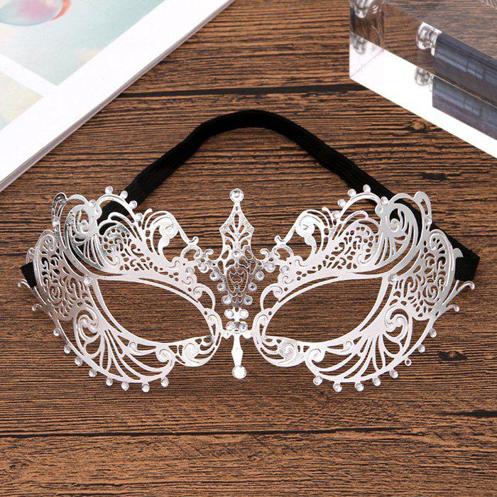 Best A20 Diamond-plated Half Face Ladies Princess Masquerade Show Mask