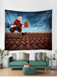 Funny Father Christmas Gift Print Tapestry Art Decoration -