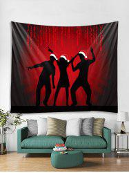 Celebrate Christmas Print Tapestry Art Decoration -