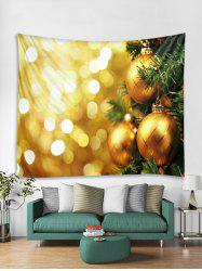 Ball Christmas Print Tapestry Art Decoration -