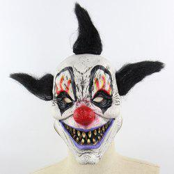 Halloween Horror Sorcerer Clown Mask -