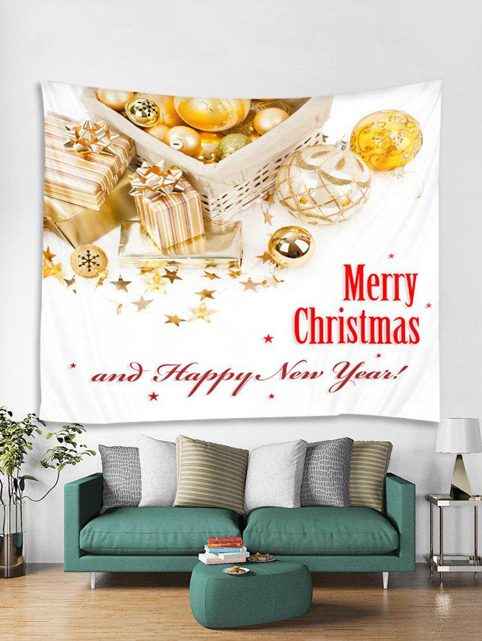 Shop Merry Christmas Happy New Year Print Tapestry Art Decoration