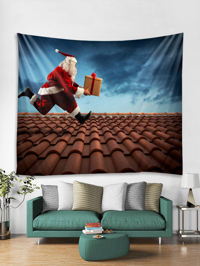Cheap Funny Father Christmas Gift Print Tapestry Art Decoration
