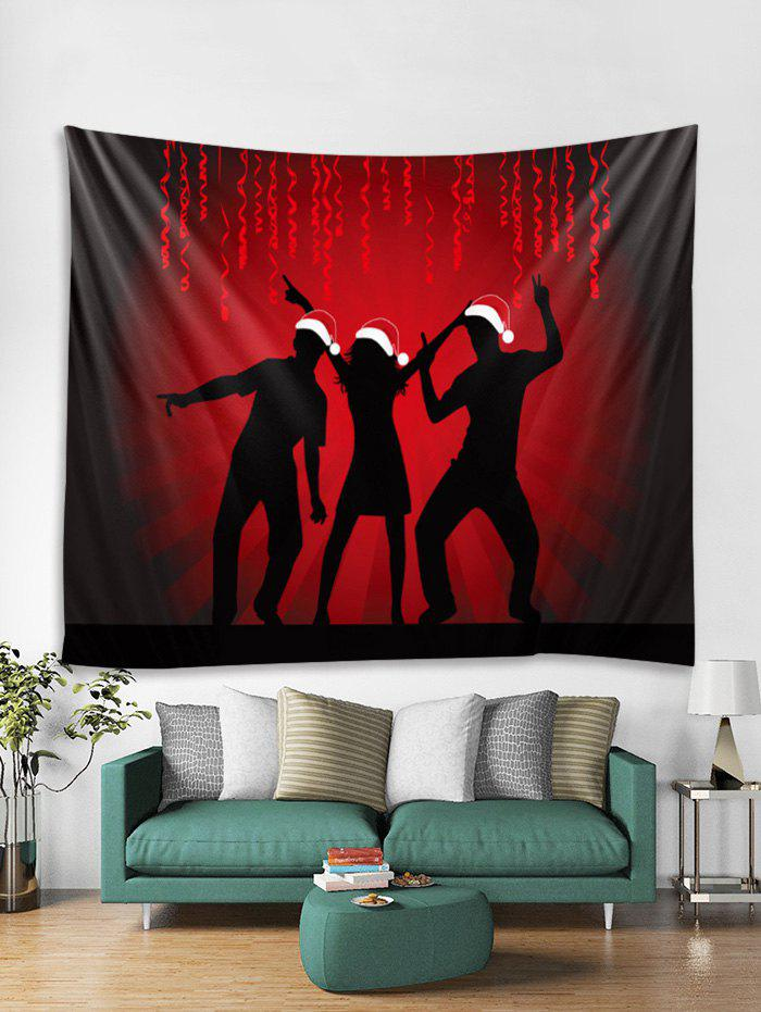 Chic Celebrate Christmas Print Tapestry Art Decoration