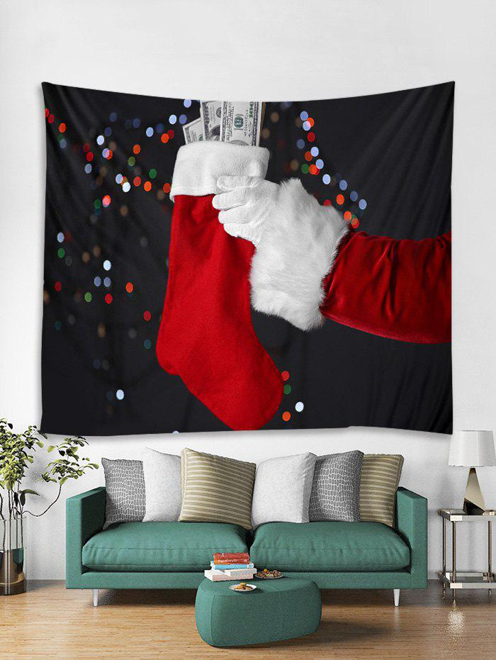 Hot Christmas Stocking Print Tapestry Art Decoration