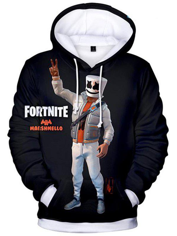 Outfits Sweater 3D Digital Printing Pullover Sweater Men