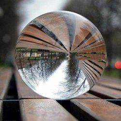 Clear Crystal Ball Healing Sphere Photography Props Photo Gifts Children Game Outdoor Toys -