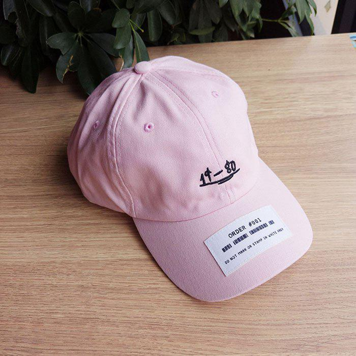 Shops Letter Embroidery Patch Baseball Cap