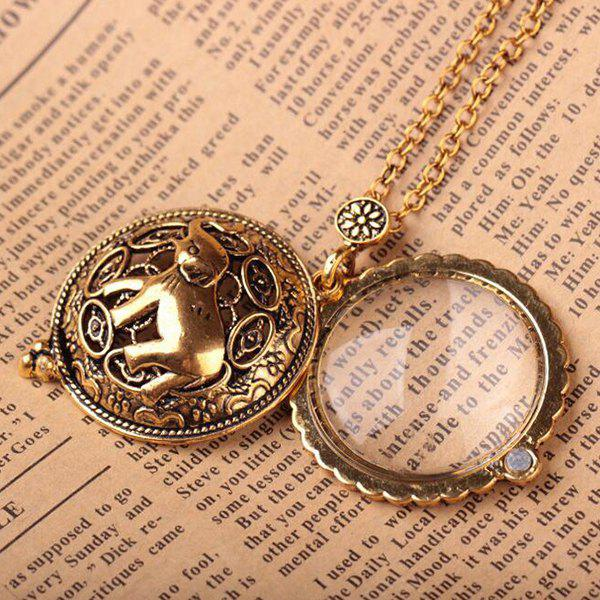 Personality Magnifying Glass Necklace