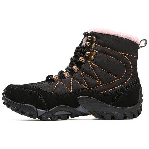 Men's Boots Autumn And Winter New Leather High-top Shoes