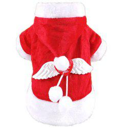 Autumn Winter Angel Christmas Pet Clothes -