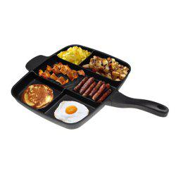 Multifunctional Five-in-one Non-stick Aluminum Frying Pan Grill Baking Pans Tray Home Kitchen Cooking Pot Frigideira Cookware -