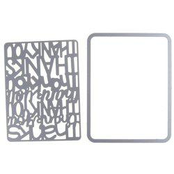 F1883 DIY Scrapbooking Cutting Die -