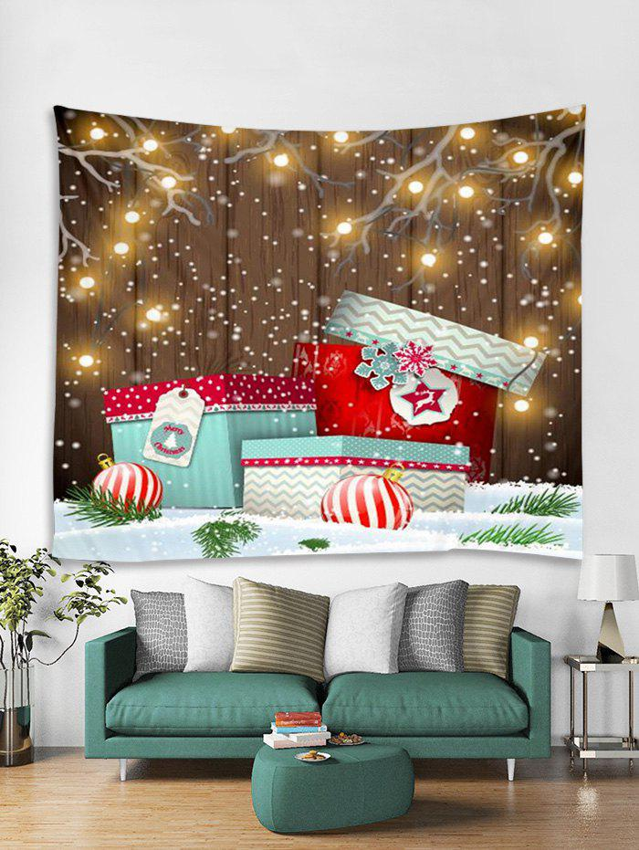 Best Christmas Gifts Ball Print Tapestry Wall Hanging Decoration
